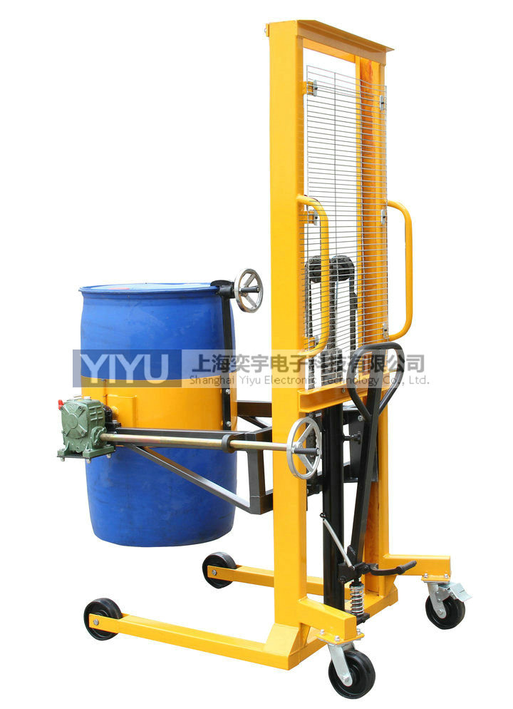 DA400A液压升高油桶倒料车
