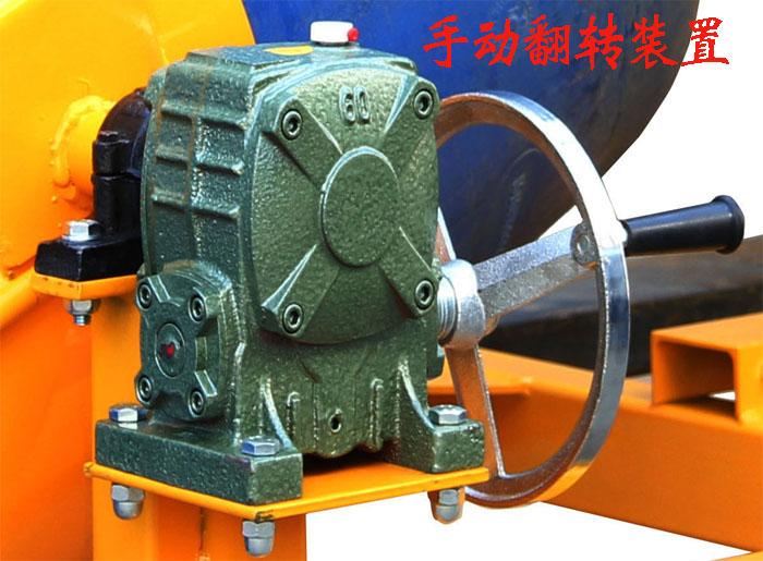 HK285叉车专用手动倒桶机翻转装置