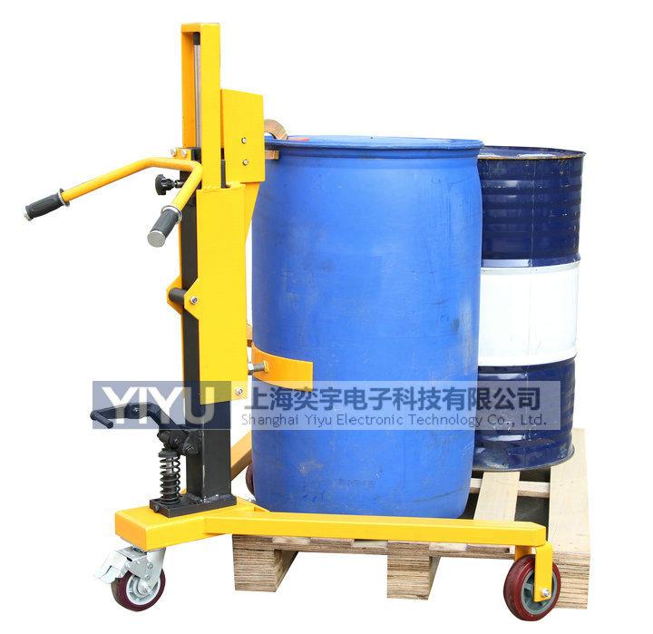 DT350B脚踏液压油桶车-上海奕宇电子科技有限公司
