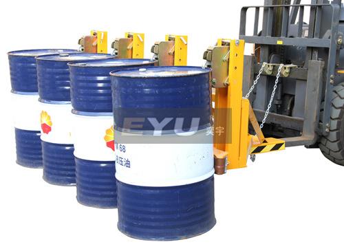 dg2000a叉车四桶油桶夹|油桶车-上海奕宇电子科技